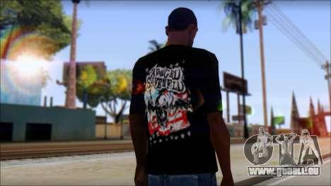 A7X Stars And Stripes T-Shirt pour GTA San Andreas deuxième écran