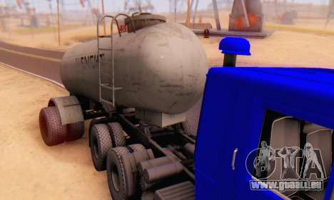 Trailer cement carrier TTC 26 für GTA San Andreas