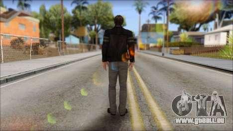 Leon Kennedy from Resident Evil 6 v2 pour GTA San Andreas deuxième écran