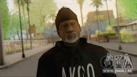 Old Gangster für GTA San Andreas dritten Screenshot