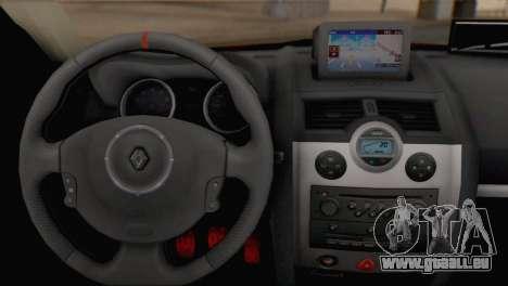 Renault Megane II HatchBack für GTA San Andreas zurück linke Ansicht