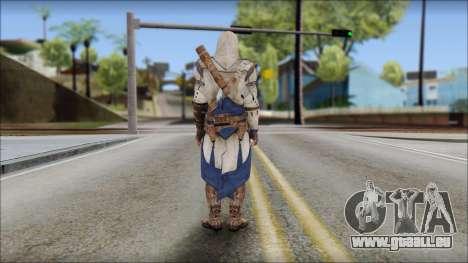 Connor Kenway Assassin Creed III v2 pour GTA San Andreas deuxième écran