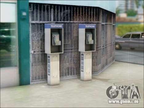 Rue de téléphone pour GTA San Andreas quatrième écran