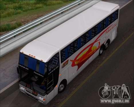 Busscar Jum Buss 400 Volvo B10R Pullman Del Sur für GTA San Andreas Innen