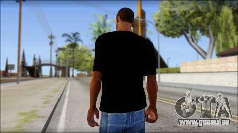 DC Shoes Shirt pour GTA San Andreas deuxième écran