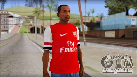 Arsenal 2013 T-Shirt pour GTA San Andreas