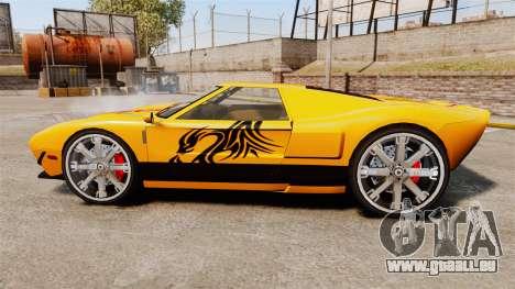 Vapid Bullet RS für GTA 4 linke Ansicht