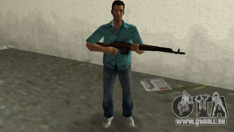 L'Auto-Chargement De Fusil Tokareva pour GTA Vice City