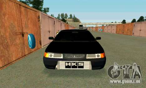 VAZ 21123 Turbo für GTA San Andreas Rückansicht