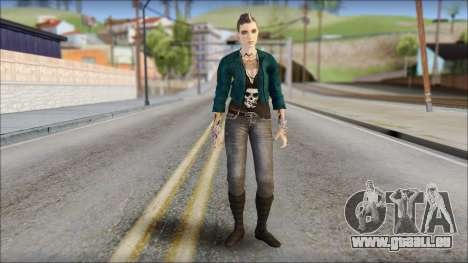 Clara Lille From Watch Dogs für GTA San Andreas