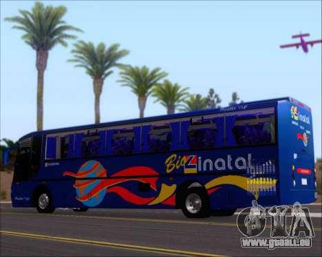 Busscar El Buss 340 Bio Linatal für GTA San Andreas Innen