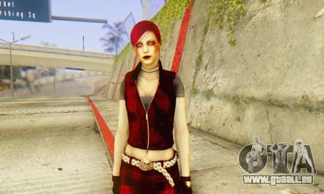 Red Girl Skin für GTA San Andreas