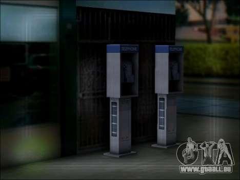 Rue de téléphone pour GTA San Andreas cinquième écran