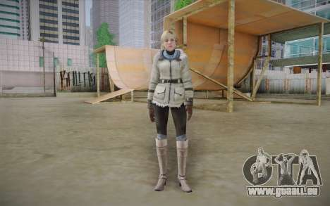 Sherry Birkin Europa from Resident Evil 6 pour GTA San Andreas