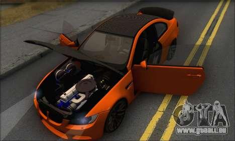 BMW M3 E92 Soft Tuning für GTA San Andreas Seitenansicht