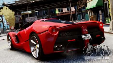 Ferrari LaFerrari Spider für GTA 4 linke Ansicht
