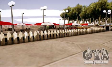 New Santa Maria Beach v1 pour GTA San Andreas