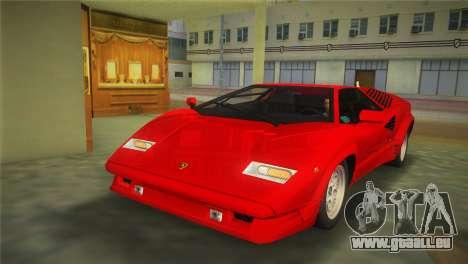 Lamborghini Countach 1988 25th Anniversary pour GTA Vice City