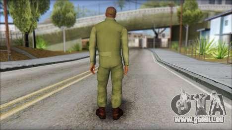 USAF Pilot On Base für GTA San Andreas zweiten Screenshot