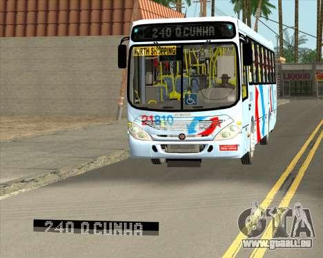 Marcopolo Torino G7 2007 - Volksbus 17-230 EOD für GTA San Andreas Motor