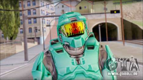 Masterchief Blue-Green from Halo für GTA San Andreas