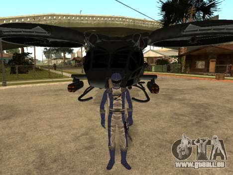 Power Rangers Operation Overdrive für GTA San Andreas siebten Screenshot
