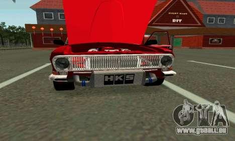 GAS 24 für GTA San Andreas rechten Ansicht