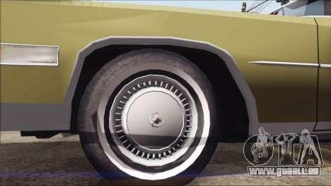 Cadillac Eldorado Stock pour GTA San Andreas vue de droite