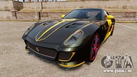 Ferrari 599 GTO PJ3 pour GTA 4