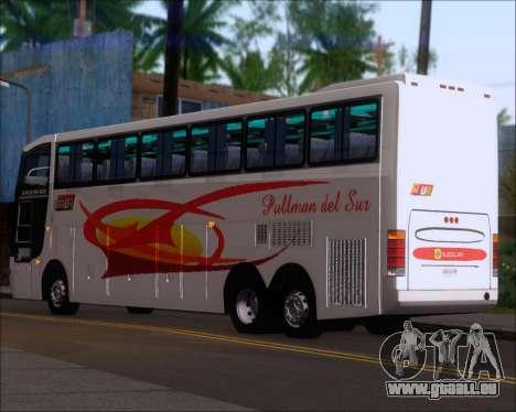 Busscar Jum Buss 400 Volvo B10R Pullman Del Sur pour GTA San Andreas vue de droite