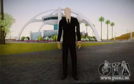 Slenderman pour GTA San Andreas