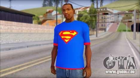 Superman T-Shirt v1 für GTA San Andreas