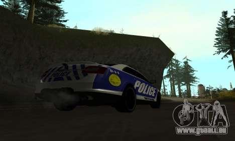 Ford Taurus HSO Police für GTA San Andreas linke Ansicht