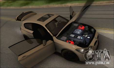 BMW M135i pour GTA San Andreas moteur