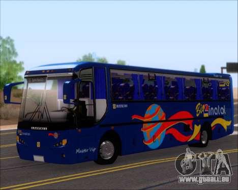 Busscar El Buss 340 Bio Linatal für GTA San Andreas Räder