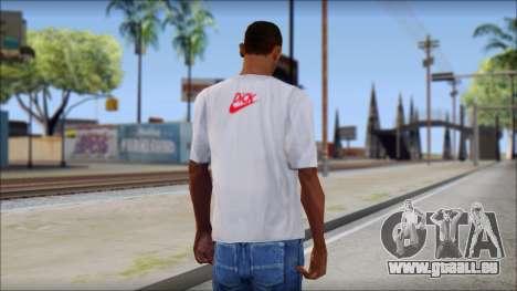 N1KE Head T-Shirt für GTA San Andreas zweiten Screenshot