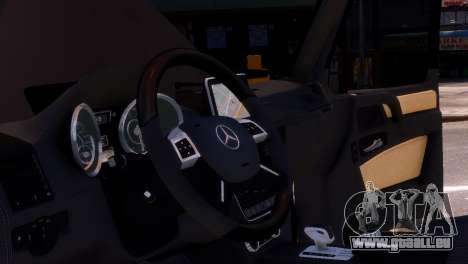 Mercedes-Benz G65 AMG v1.1 für GTA 4 Innenansicht