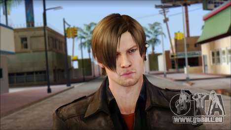 Leon Kennedy from Resident Evil 6 v1 pour GTA San Andreas troisième écran