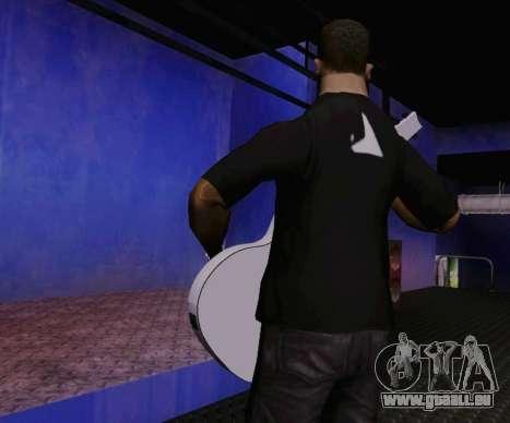 Les chansons de Viktor Tsoi guitare pour GTA San Andreas troisième écran
