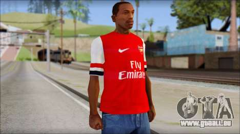 Arsenal FC Giroud T-Shirt pour GTA San Andreas