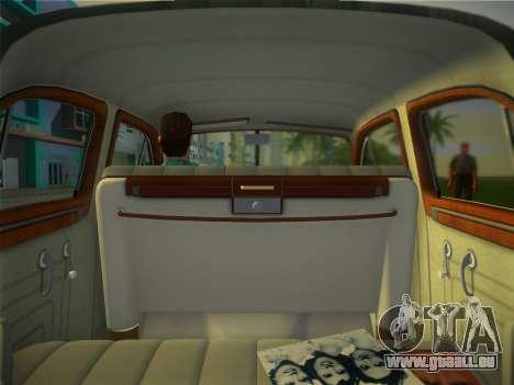 Packard Standard Eight Touring Sedan 1948 für GTA Vice City Rückansicht