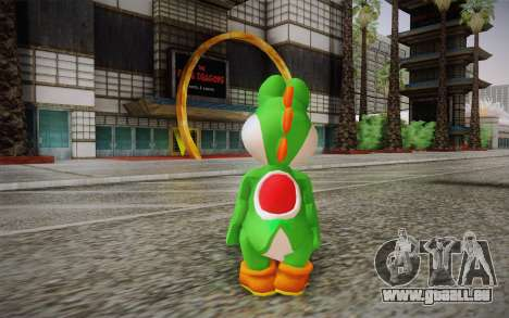 Yoshi from Super Mario für GTA San Andreas zweiten Screenshot