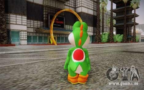 Yoshi from Super Mario für GTA San Andreas zweiten Screenshot