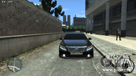 Toyota Camry 2013 pour GTA 4 est un droit