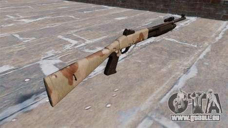 Ружье Benelli M3 Super 90 choco pour GTA 4 secondes d'écran