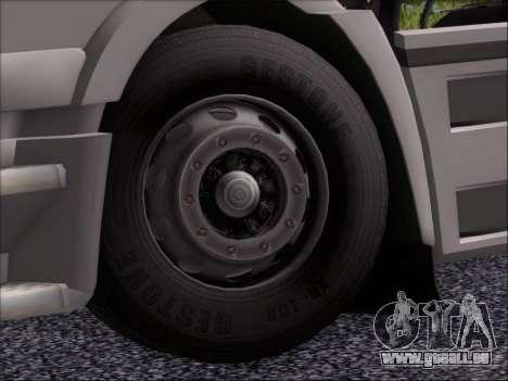 Iveco Stralis HiWay 560 e6 4x2 pour GTA San Andreas vue de dessous