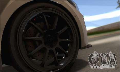 BMW M135i pour GTA San Andreas vue intérieure