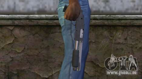 Sawnoff Shotgun from GTA 5 v2 pour GTA San Andreas troisième écran