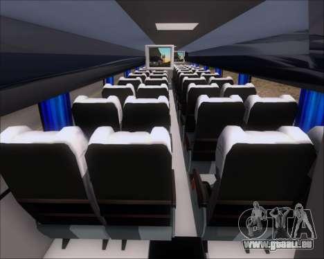 Busscar Vissta Buss LO Mercedes Benz 0-500RS für GTA San Andreas Innenansicht
