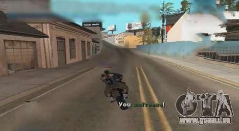 Unfreeze pour GTA San Andreas